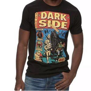 Men's Star Wars Dark Side Teen Black Short Sleeve